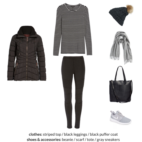 The Athleisure Capsule Wardrobe Winter 2018 Collection - OUTFIT 3