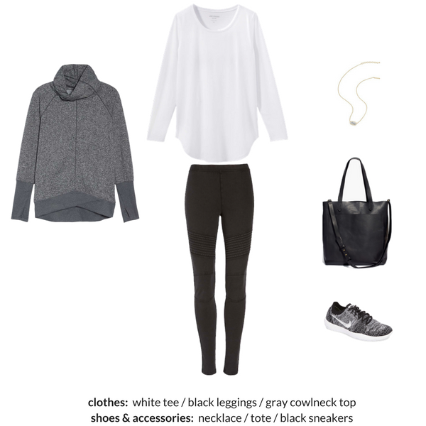 ATHLEISURE Capsule Wardrobe Winter 2018 Outfit 55