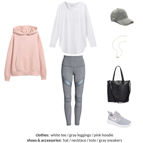 ATHLEISURE Capsule Wardrobe Winter 2018 Outfit 64
