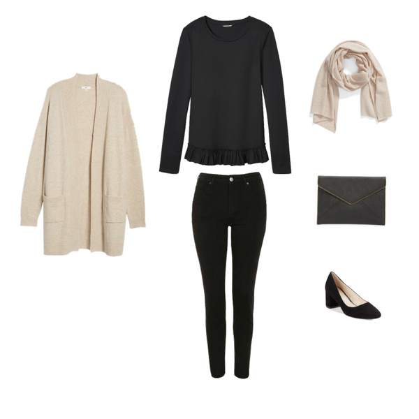 French Minimalist Capsule Wardrobe Winter 2018 - OUTFIT 68