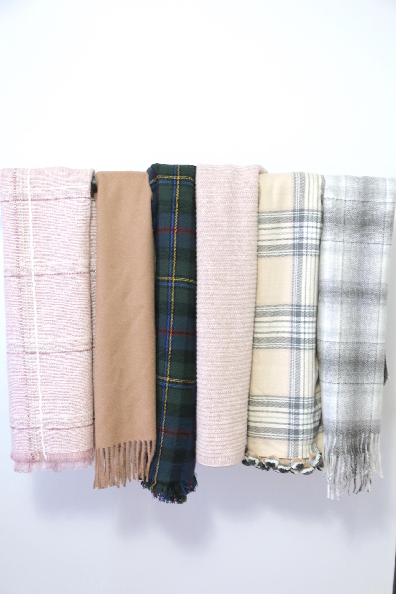 Winter 2017 Capsule Wardrobe - scarves