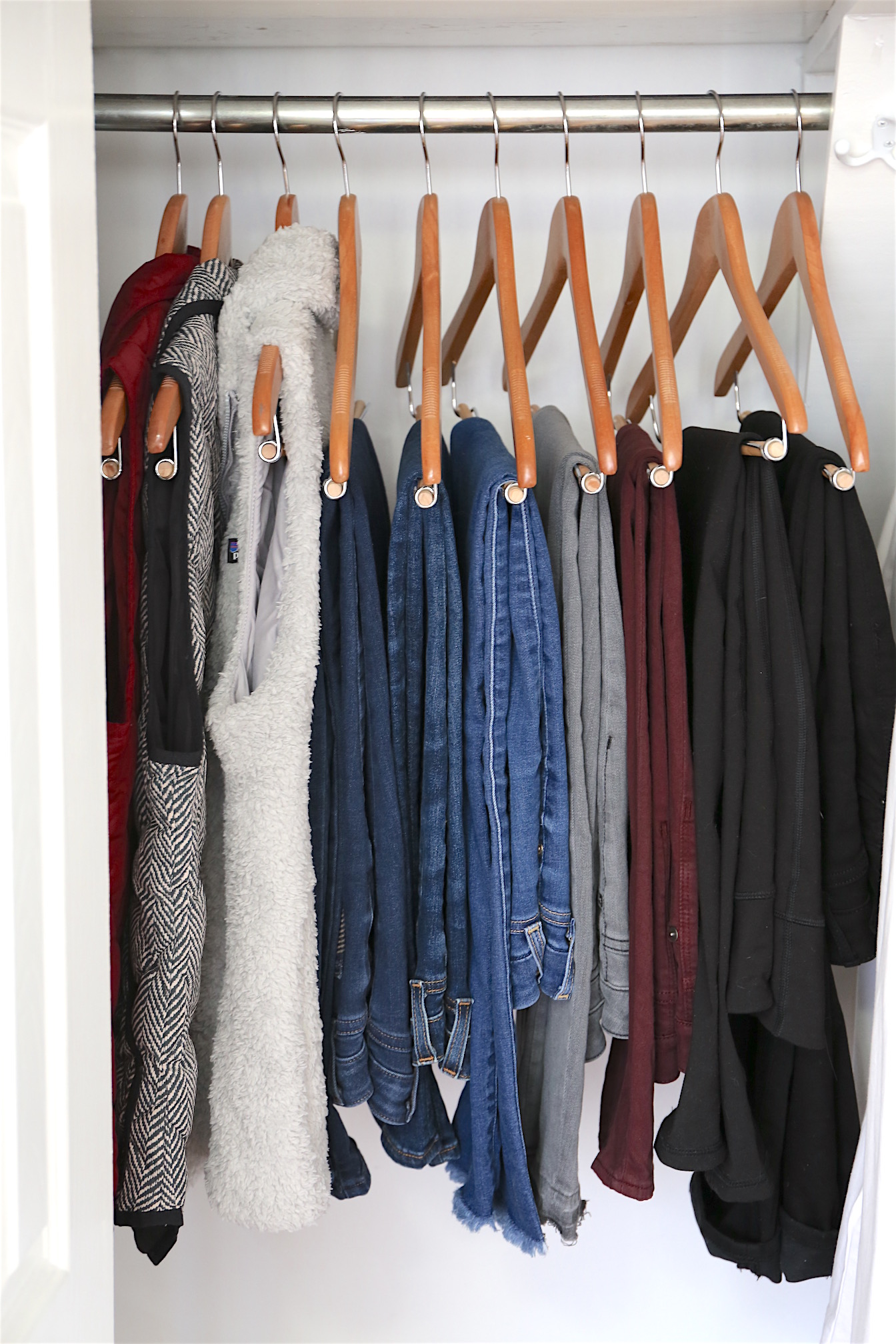 Winter 2017 Capsule Wardrobe - Bottoms and Vests
