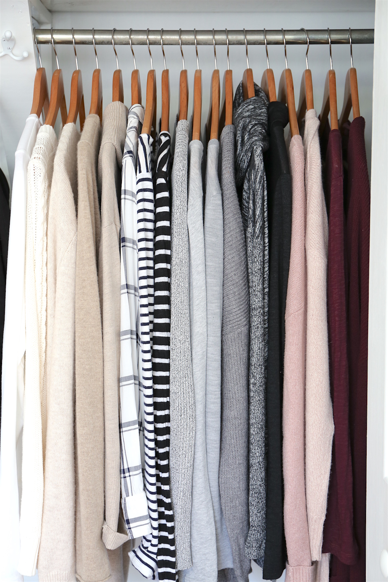 Winter 2017 Capsule Wardrobe - Tops