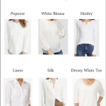 6 Alternatives for a White Cotton Button-up Shirt