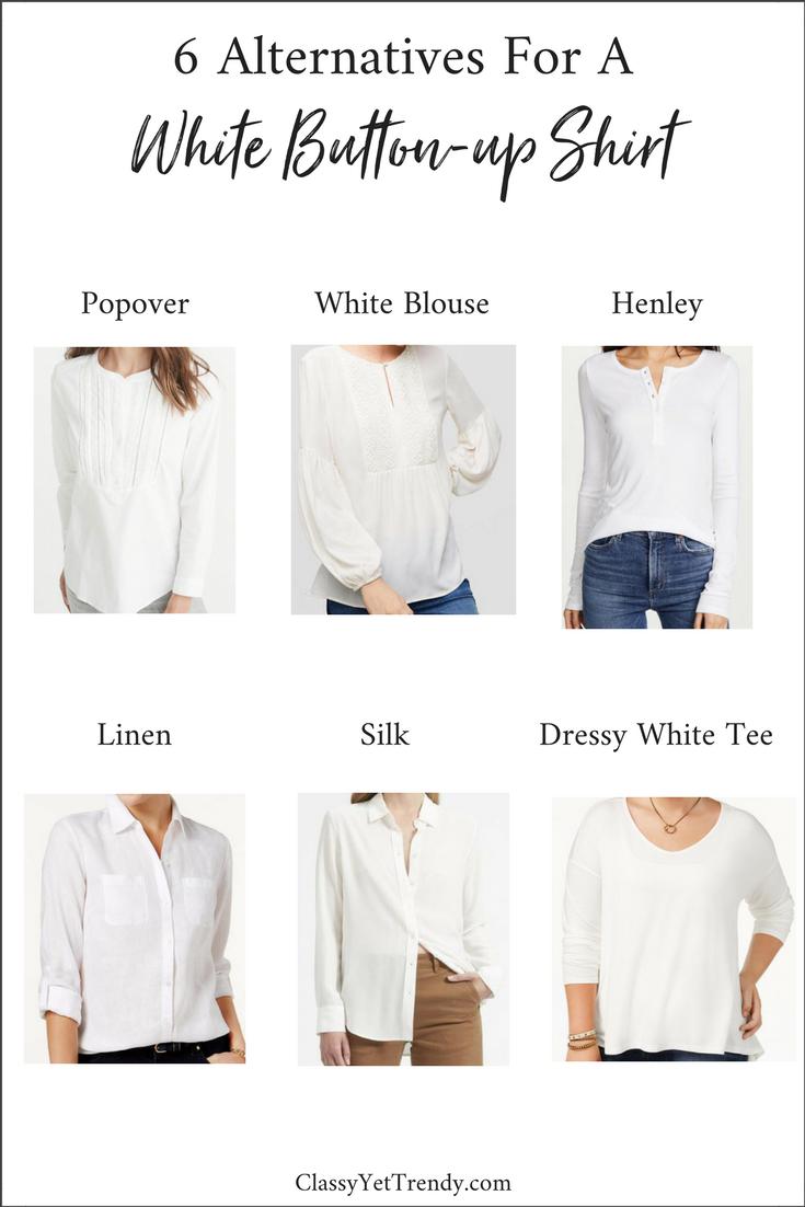 6 Alternatives To A White Button up Shirt