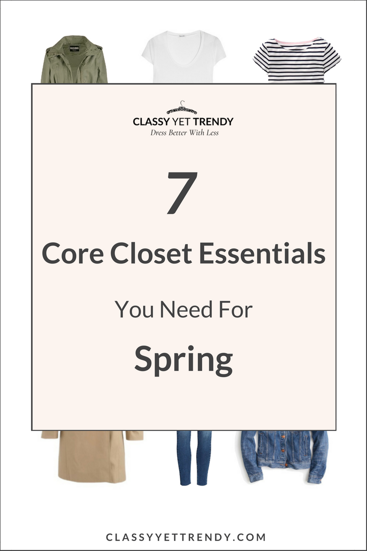 7 Core Closet Essentials You Need for Spring