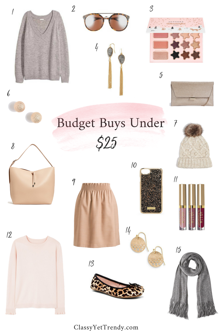 Budget Buys Under $25