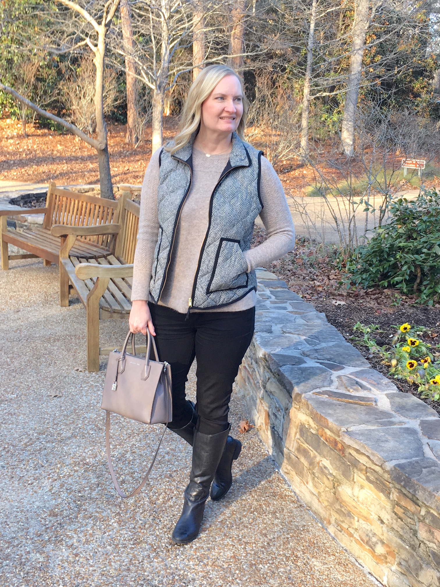 What I Wore At Callaway Gardens