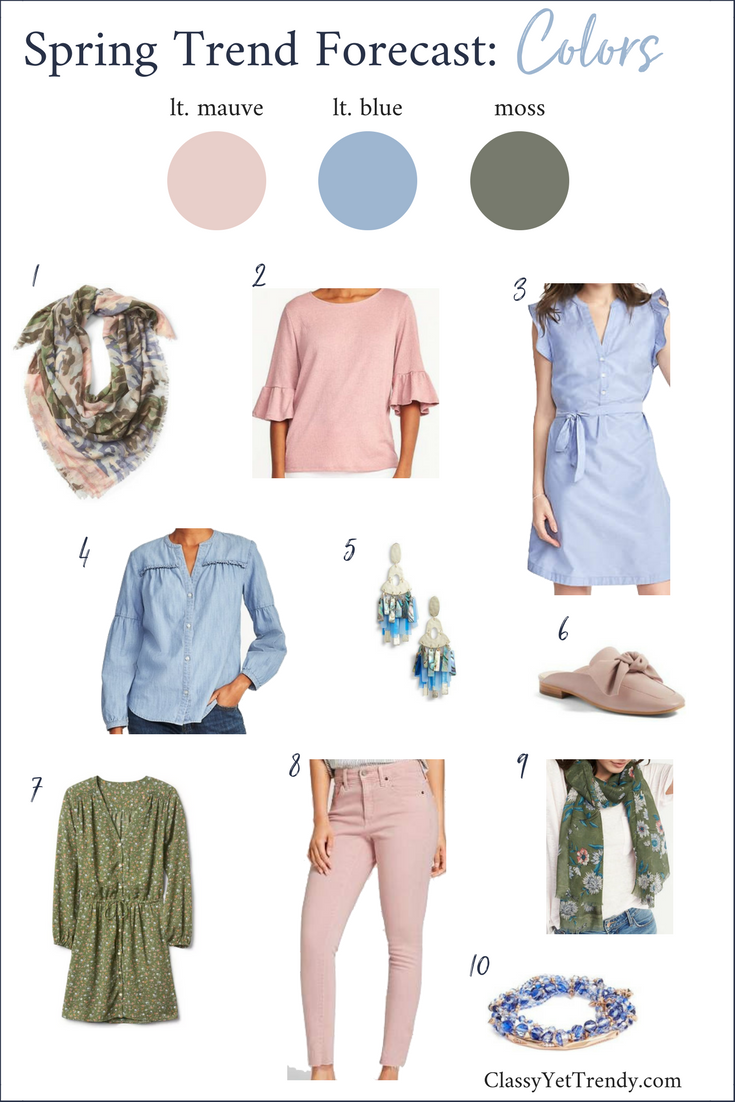 Spring Color Trend Forecast (Trendy Wednesday #153)