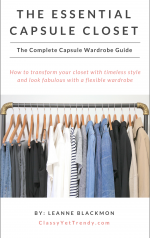 The Essential Capsule Closet: The Complete Capsule Wardrobe Guide