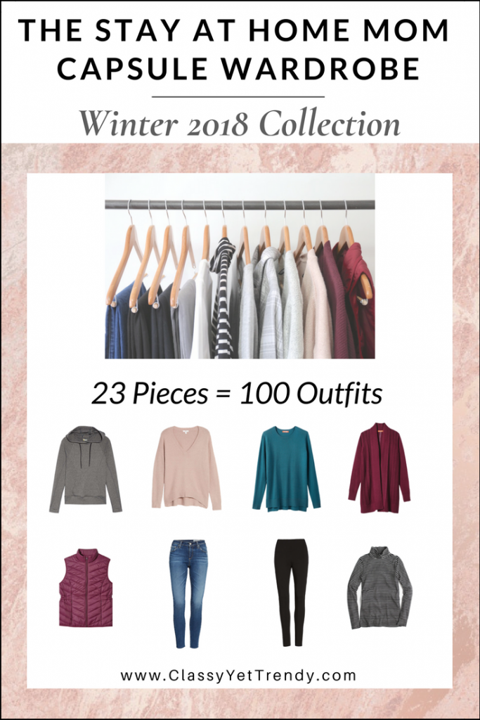 The Stay At Home Mom Capsule Wardrobe: Winter 2017/2018