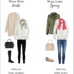 Wear Now, Wear Later: White Long Sleeve Tee