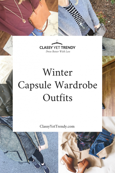 Winter Capsule Wardrobe Outfits On Instagram