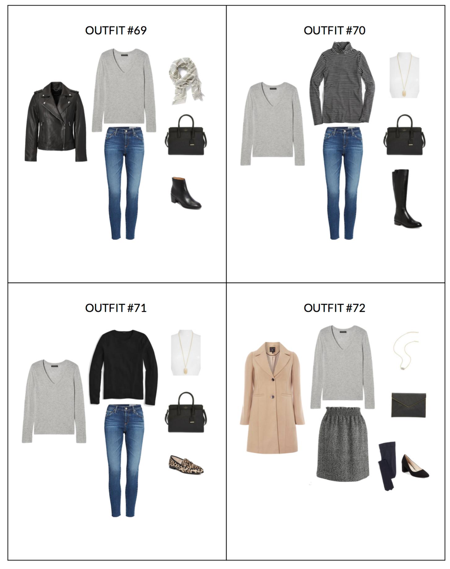 French Capsule: The French Minimalist Capsule Wardrobe: Winter 2018