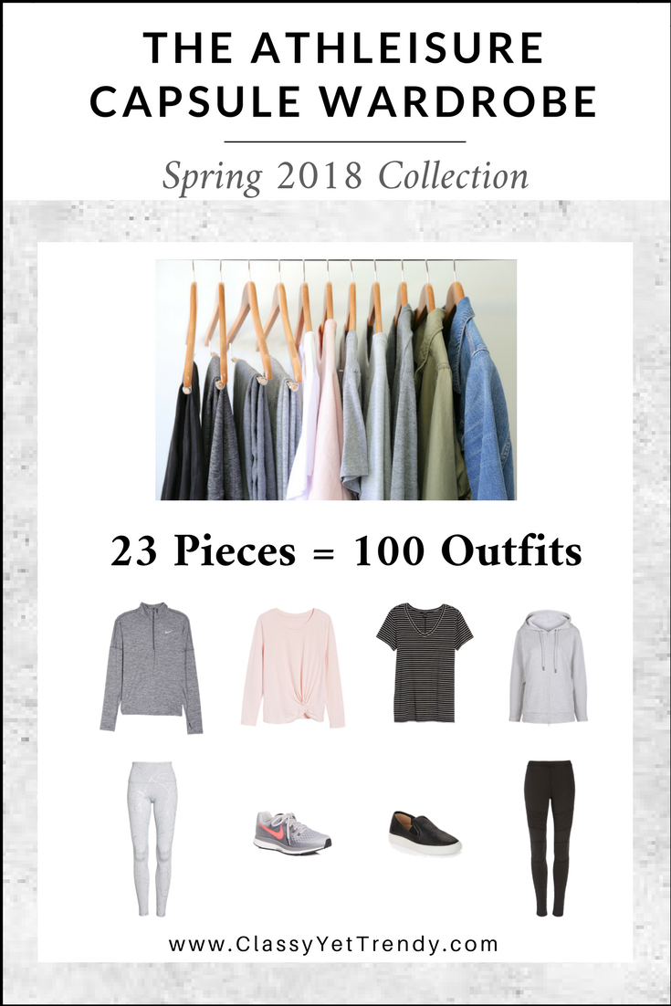 The Athleisure Capsule Wardrobe: Spring 2018 Collection