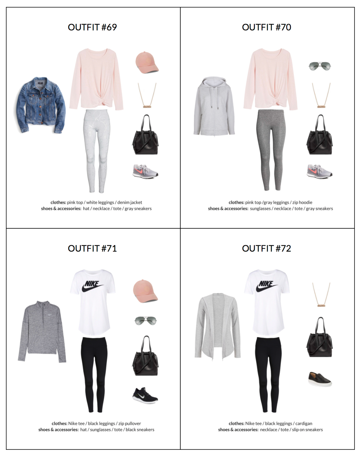 The Athleisure Capsule Wardrobe Spring 2018 Collection Classy Yet Trendy