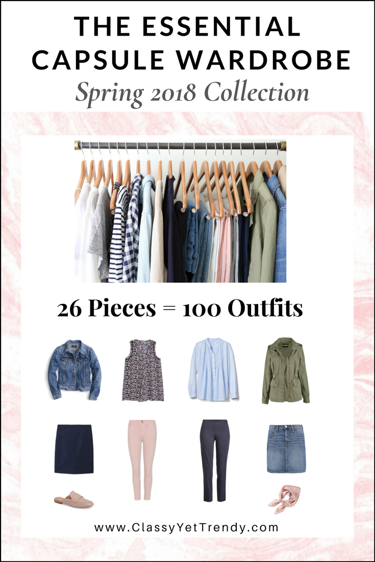 The Essential Capsule Wardrobe Spring 2018 eBook