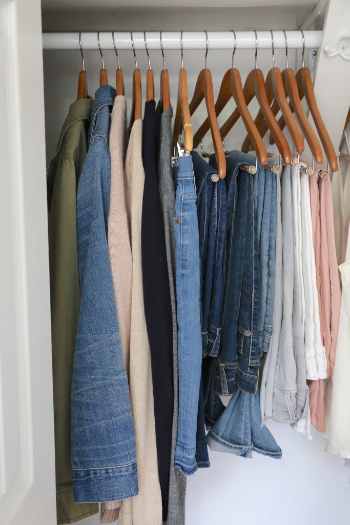 My Spring 2018 Capsule Wardrobe - layers and bottoms
