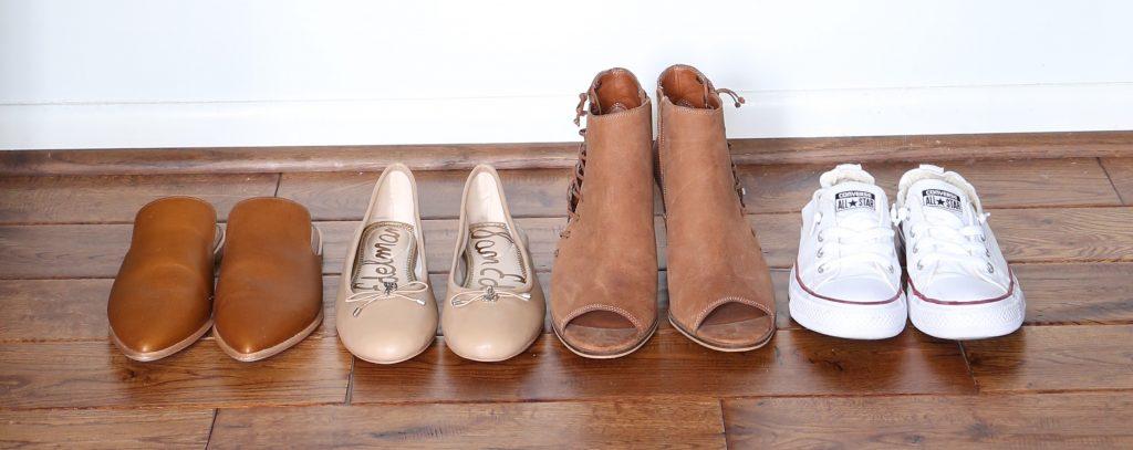 My Spring 2018 Capsule Wardrobe - shoes