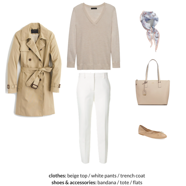 The French Minimalist Capsule Wardrobe - Spring 2018 - OUTFIT 34