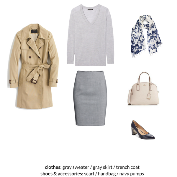 The Workwear Capsule Wardrobe - Spring 2018 - OUTFIT 36