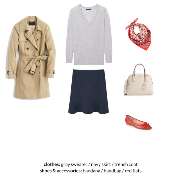 The Workwear Capsule Wardrobe - Spring 2018 - OUTFIT 39
