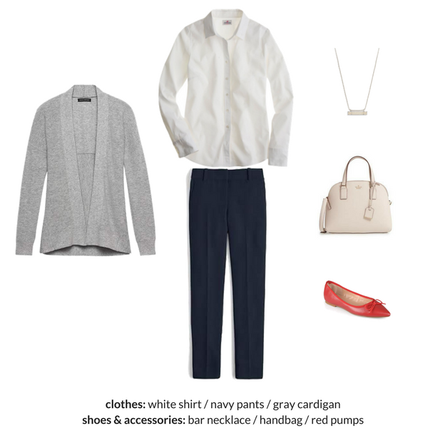 The Workwear Capsule Wardrobe - Spring 2018 - OUTFIT 4