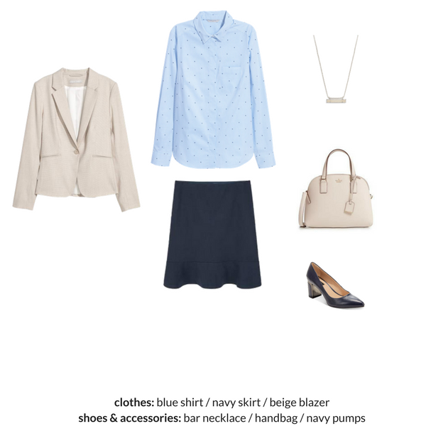 The Workwear Capsule Wardrobe - Spring 2018 - OUTFIT 45