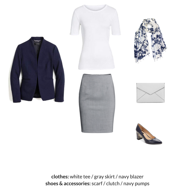 The Workwear Capsule Wardrobe - Spring 2018 - OUTFIT 55