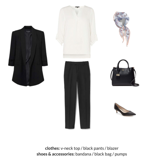 The French Minimalist Capsule Wardrobe - Spring 2018 - OUTFIT 77