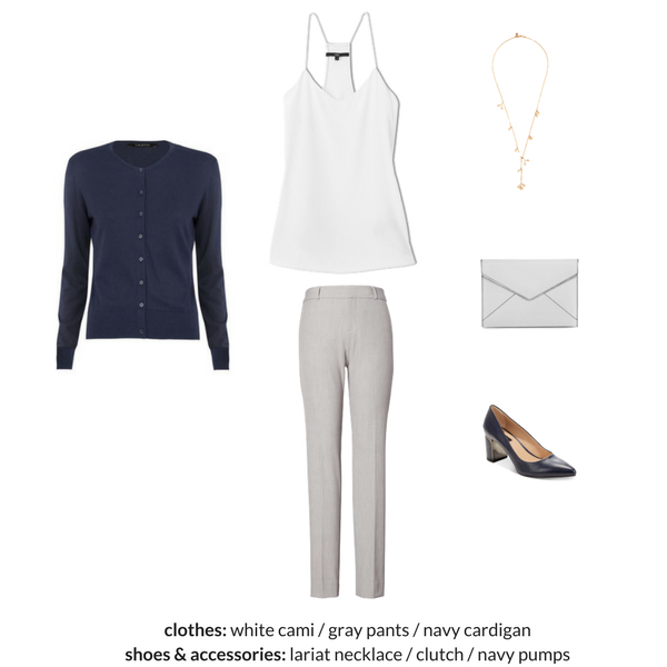 The Workwear Capsule Wardrobe - Spring 2018 - OUTFIT 88