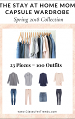 The Stay At Home Mom Capsule Wardrobe: Spring 2018 Collection