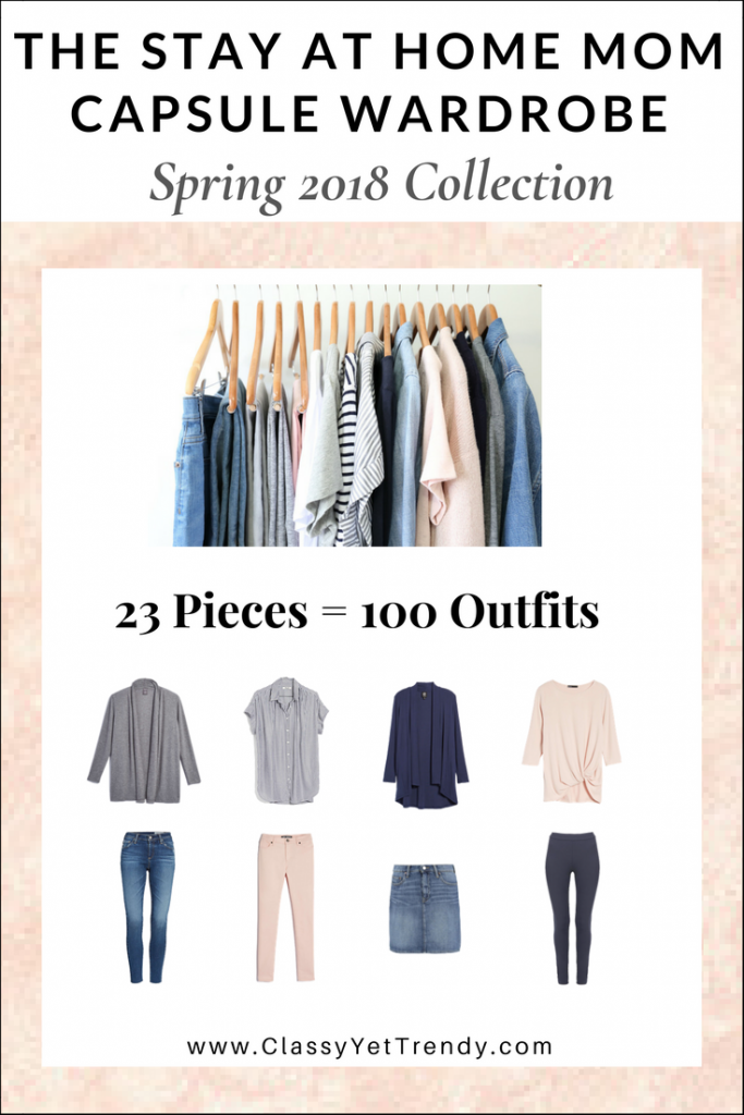 Stay At Home Mom Capsule Wardrobe Spring 2018 eBook
