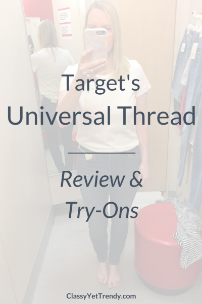 Target's Universal Thread Review and Try-Ons