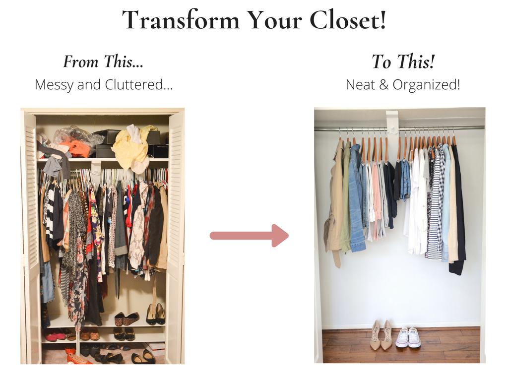 Transform Your Closet - Essential Spring 2018