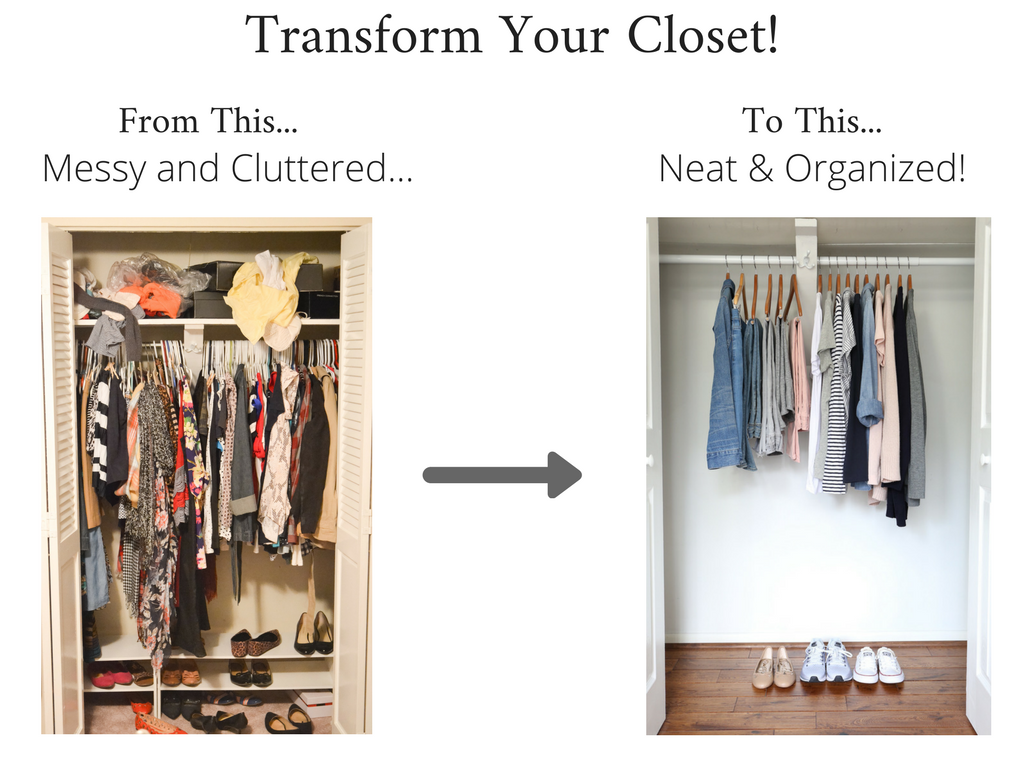 Transform Your Closet - Stay At Home Mom Spring 2018