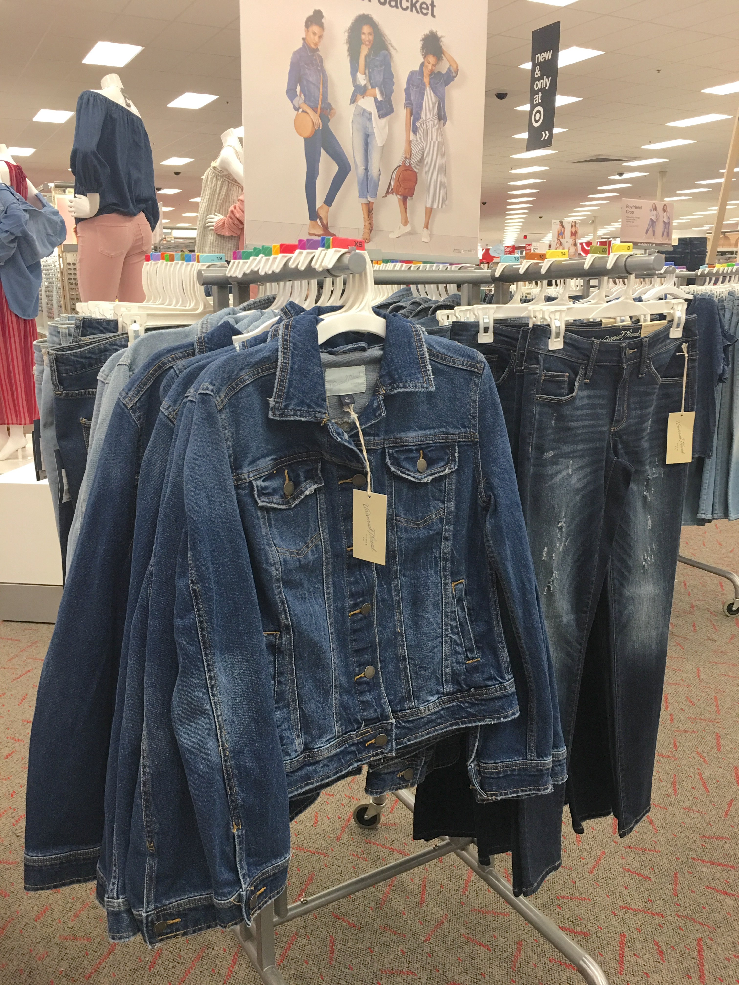 Target Universal Thread Review and Try-Ons Denim Jackets