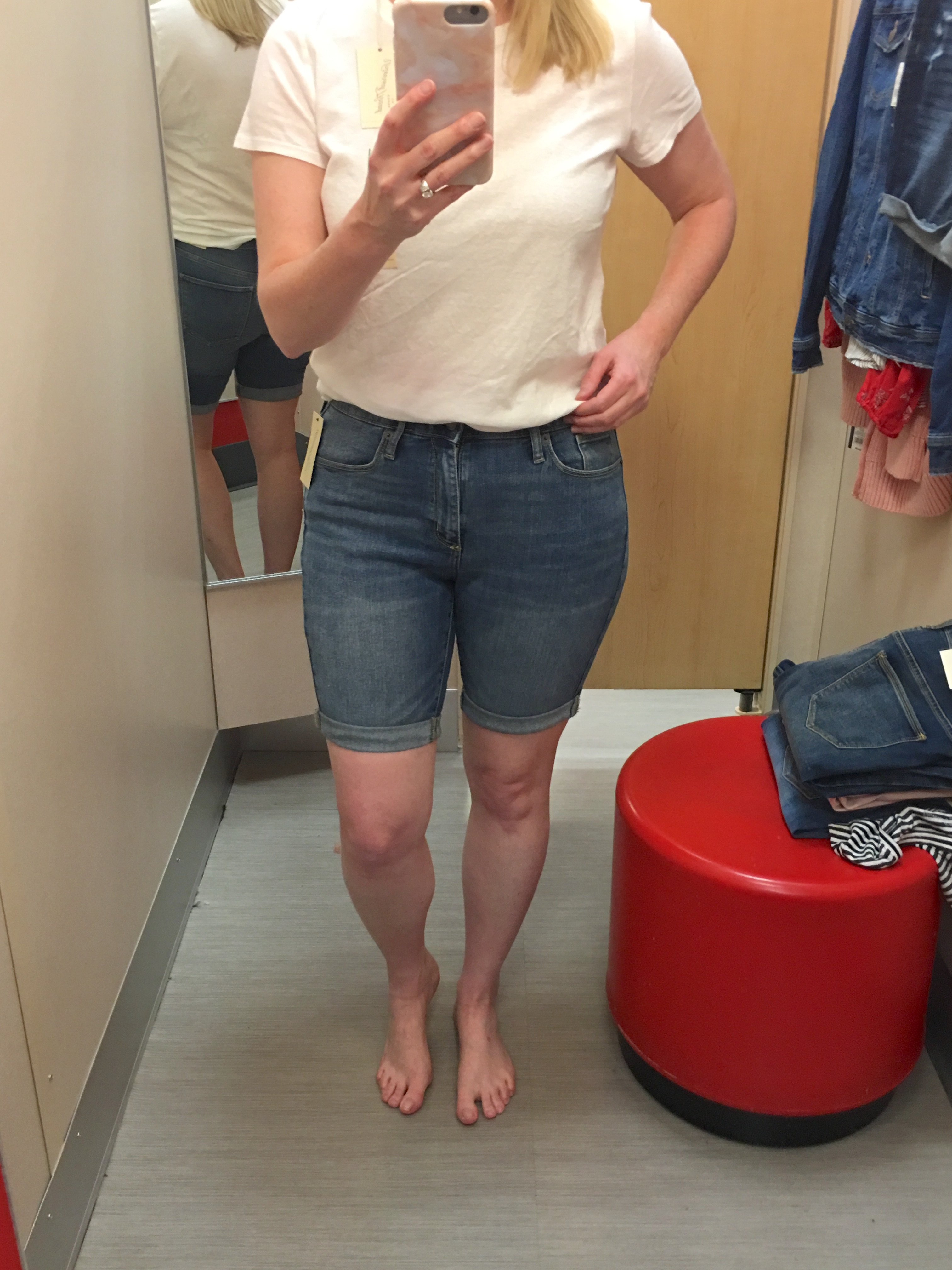 Target Universal Thread Review and Try-Ons Bermuda Shorts