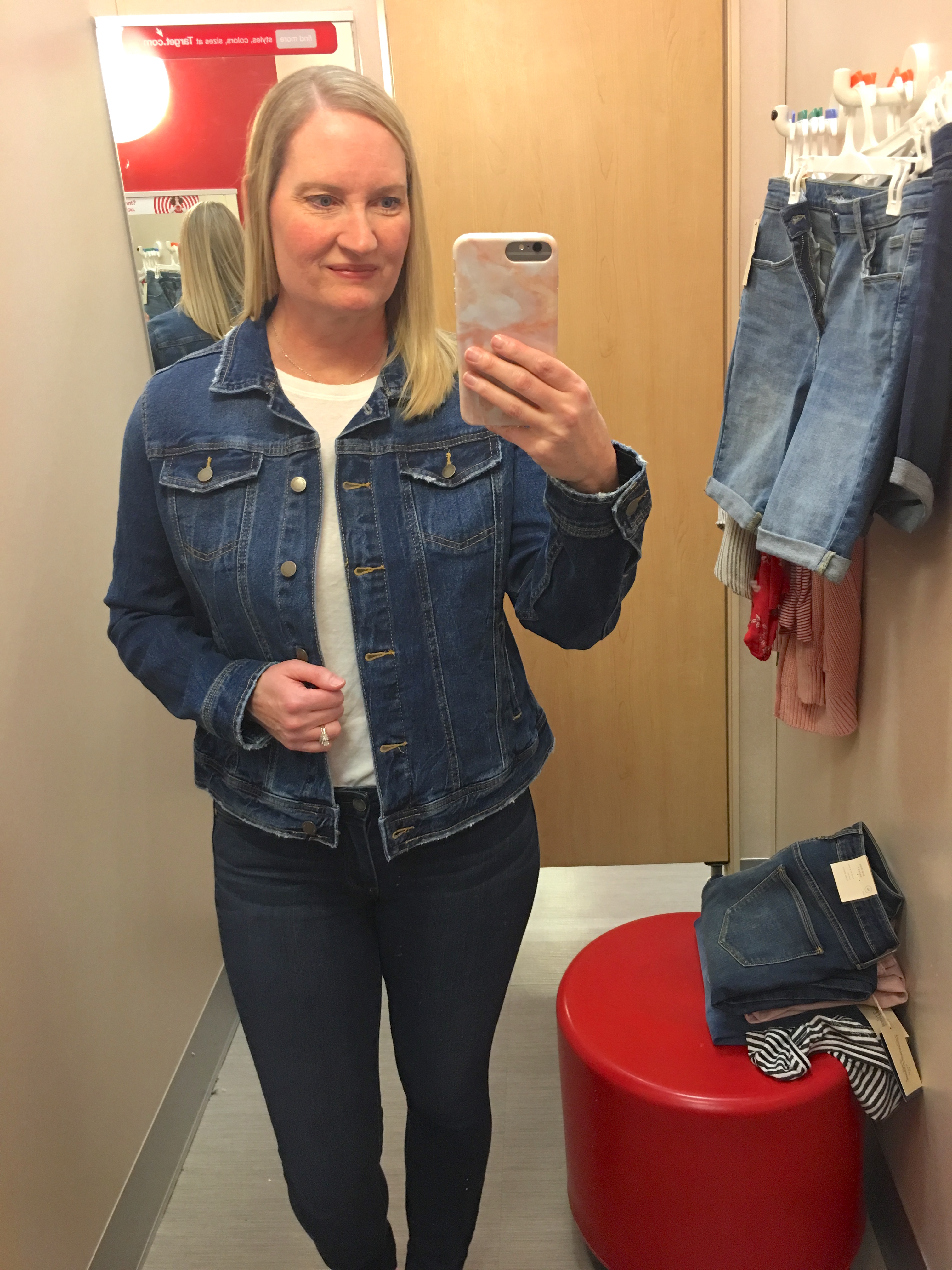 Target Universal Thread Review and Try-Ons Denim Jacket