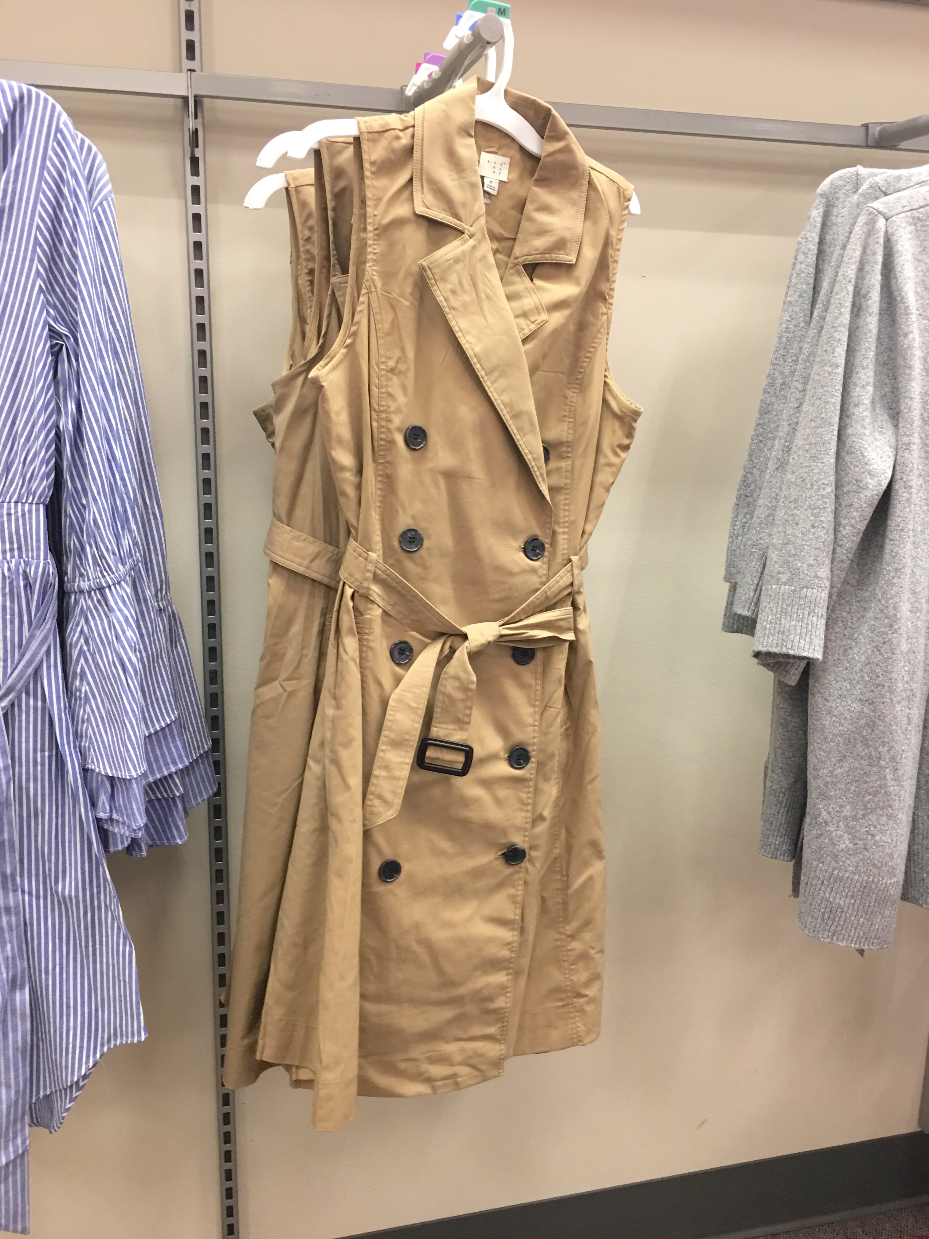 Target Universal Thread Review and Try-Ons Sleeveless Trench