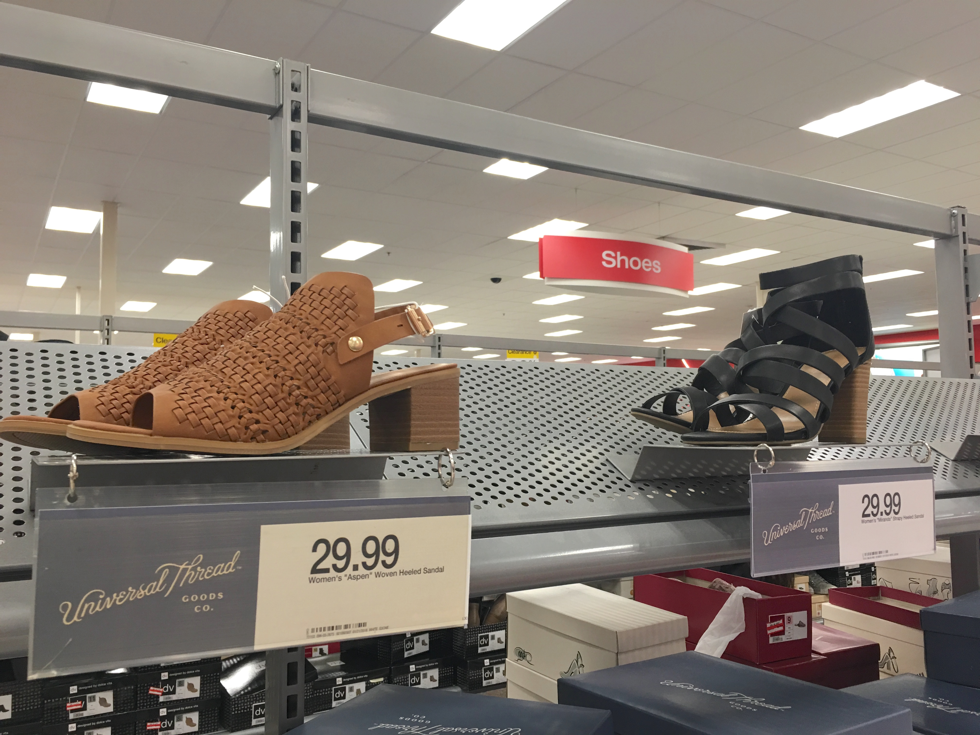 Target Universal Thread Review and Try-Ons Sandals