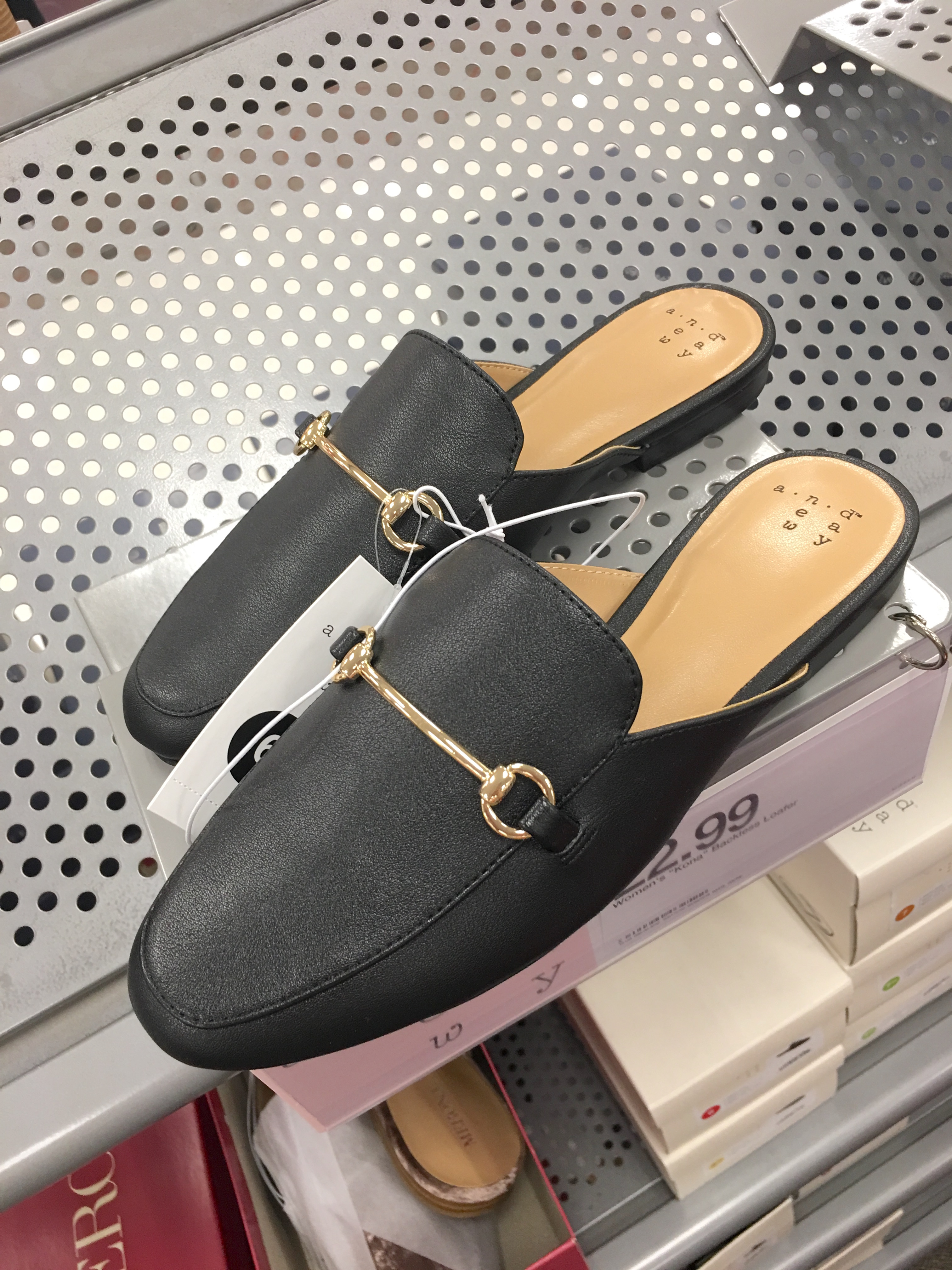 Target Universal Thread Review and Try-Ons Black Mules