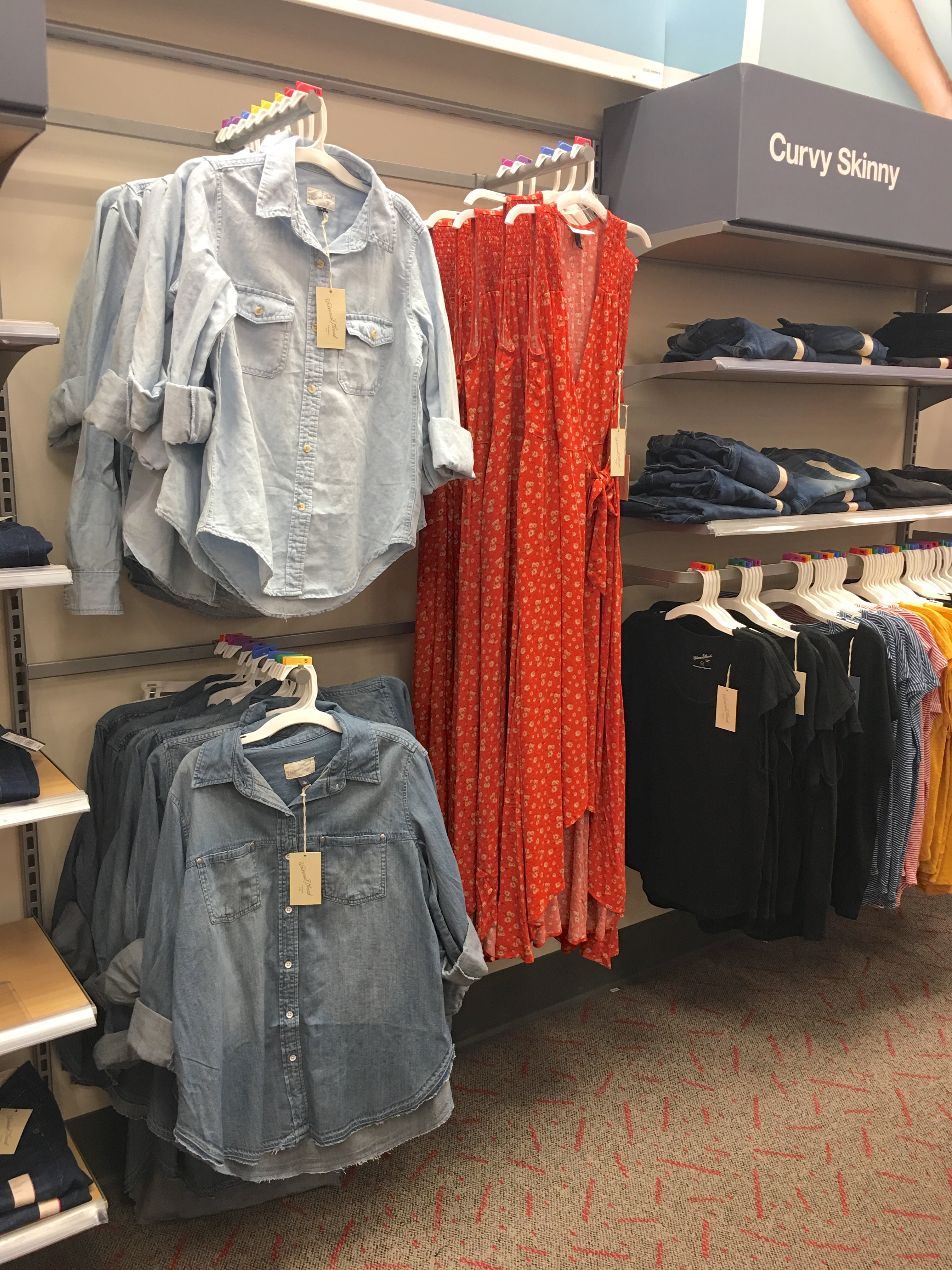 Target Universal Thread Review and Try-Ons Chambray Shirts