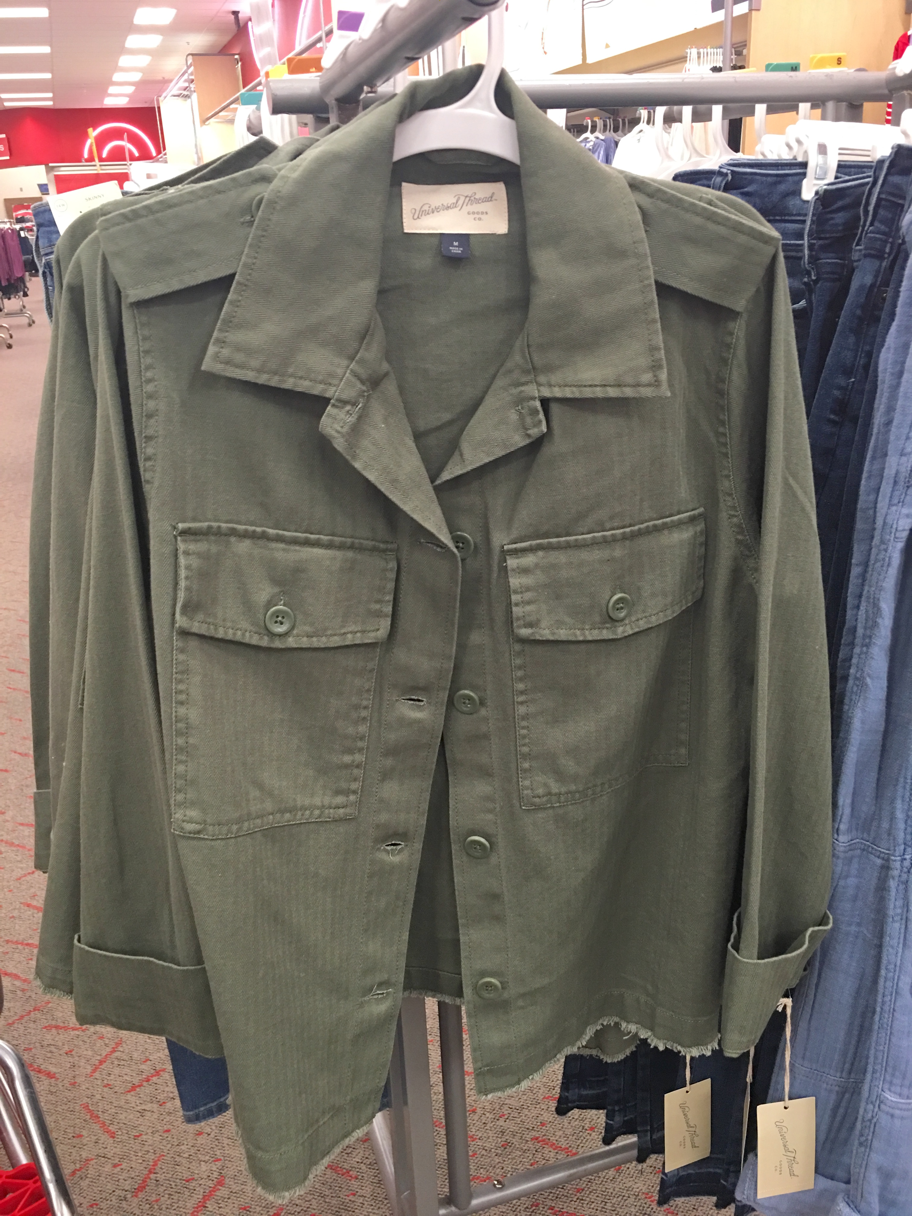 Target Universal Thread Review and Try-Ons Utility Jacket. olive military  jacket cdb7477014790