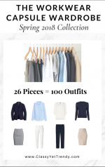 The Workwear Capsule Wardrobe: Spring 2018 Collection