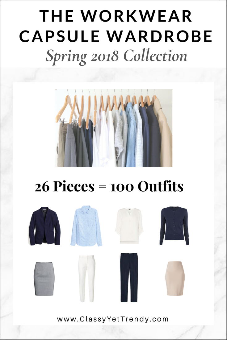 Workwear Capsule Wardrobe Spring 2018 eBook