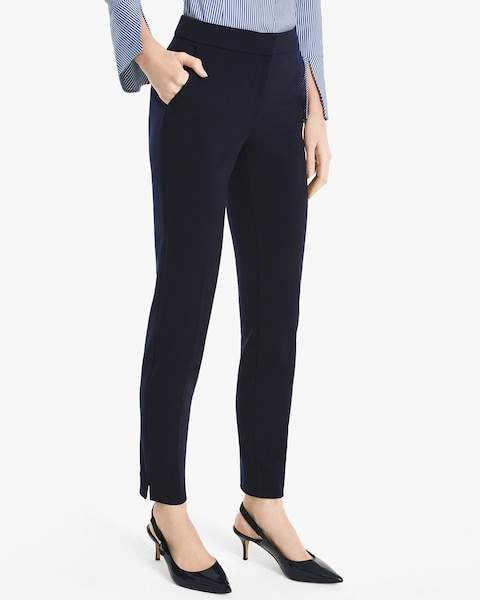 Core Closet Essential Ankle Pants Trendy Wednesday 156