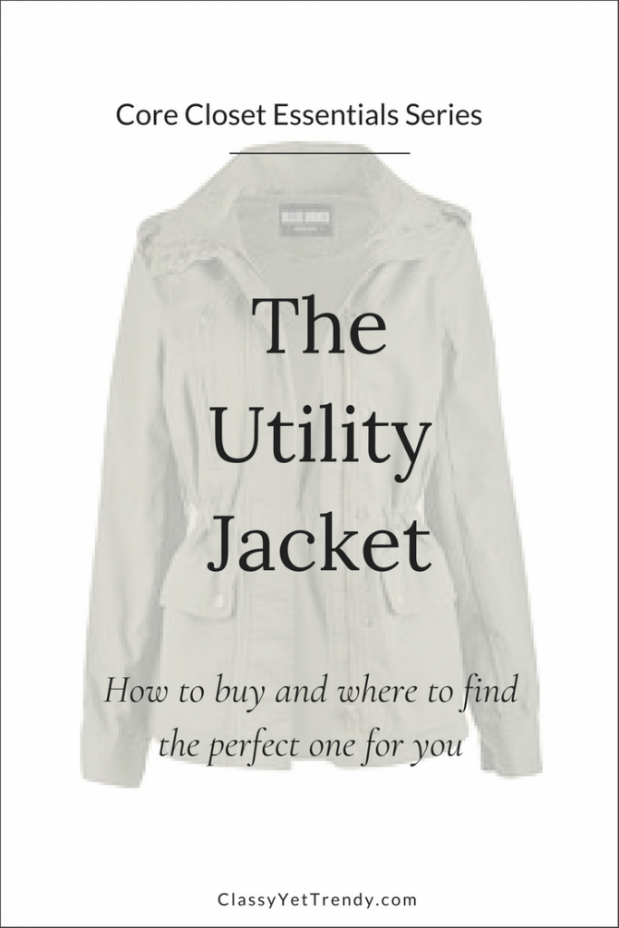 Core Closet Essentials Series - The Utility Jacket
