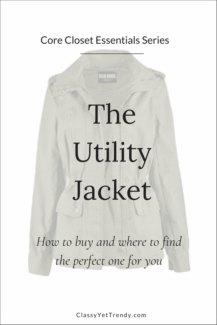 Core Closet Essential: Utility Jacket