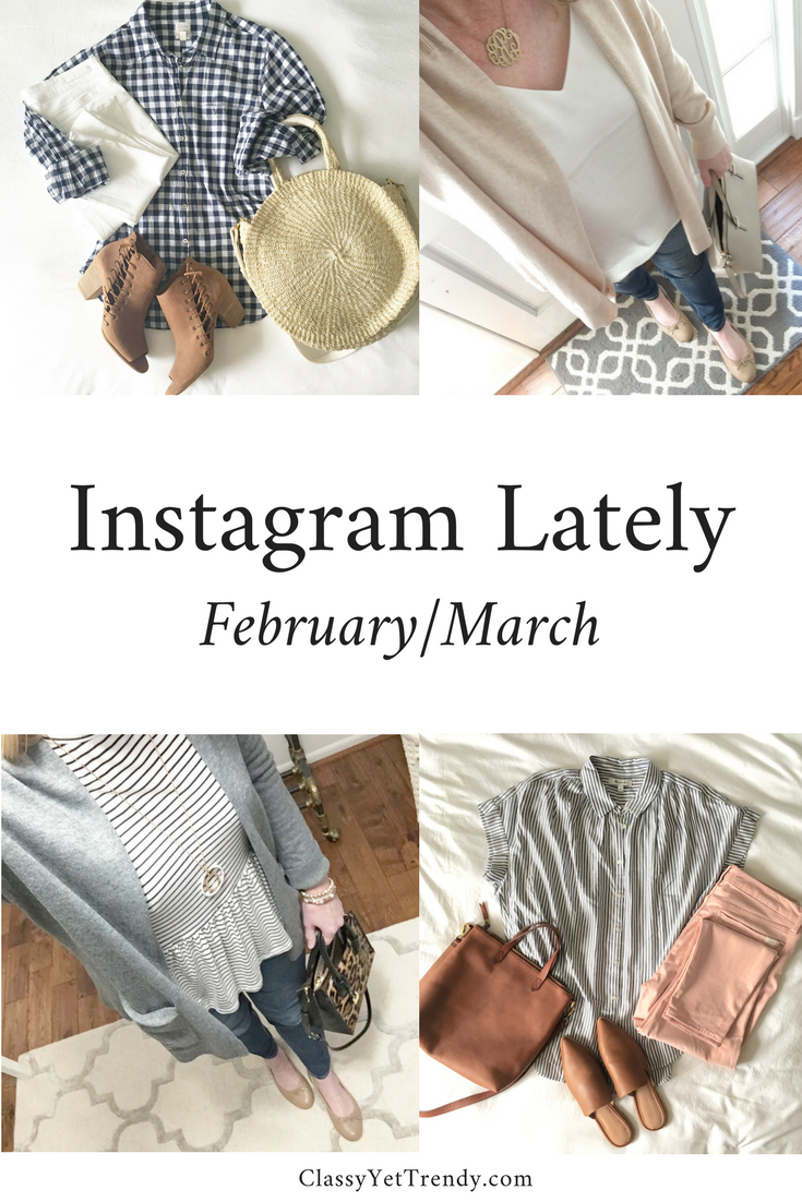 Instagram Lately - February March